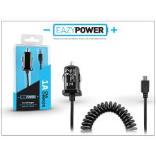 Micro USB szivargyújtós gyorstöltő spirál kábellel - Eazy Power - 5V/1A tok és táska