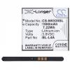 Microsoft Lumia 535, Akkumulátor, 1900 mAh, Li-ion, BL-L4A kompatibilis