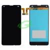 Microsoft Lumia 550 fekete LCD kijelző érintővel