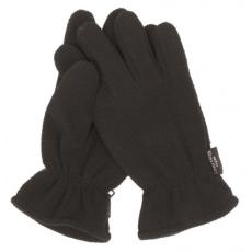 Mil-Tec Fleece Thinsulate™ kesztyű, fekete