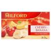 Milford cseresznye-banán ízű gyümölcstea 20 filter 50 g