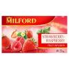 Milford Fruit Infusion eper-málna ízű gyümölcstea 20 filter 50 g
