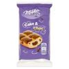 Milka Cake & Choc piskóta alpesi tejcsokoládé darabkákkal és csokoládés töltelékkel 35 g