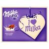 Milka I ♥ Milka alpesi tejcsokoládé praliné tejes krémtöltelékkel 120 g