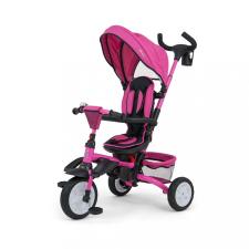 Milly Mally Gyerek tricikli 6az1-ben Milly Mally Stanley pink tricikli
