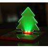 Mini bankkártya méretű világító karácsonyfa