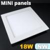 Mini négyzet LED panel (223x223 mm) 18 Watt természetes feh.