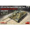 MiniArt 1/35 Jagdpanzer SU-85 személyzettel katonai jármű modell