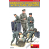 MiniArt - German Soldiers w/ Fuel Drums Special Edition