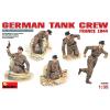 MiniArt GERMAN TANK CREW (FRANCE 1944) figura makett MiniArt 35060