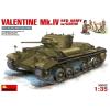 MiniArt Valentine Mk.4 Rote Armee mit Crew makett MiniArt 35092