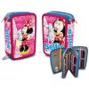 Minnie Disney Minnie 3 emeletes töltött tolltartó