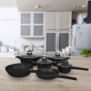 Mischler Cook MC-DB1010 10 részes edénykészlet fekete