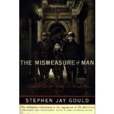 Mismeasure of Man – S J Gould idegen nyelvű könyv