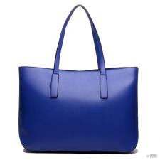 Miss Lulu London L1435 - Miss Lulu nagyméretű válltáska bevásárló táska táska Navy kézitáska és bőrönd