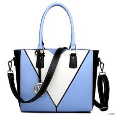 Miss Lulu London LG1641 - Miss Lulu V-alak válltáska kézi táska kék