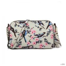 Miss Lulu London LG6802-MISS LULU BIRD PRINT TASSEL táska táska válltáska táska