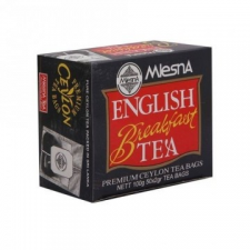 Mlesna ENGLISH BREAKFAST FEKETE TEA (100g) biokészítmény