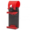 MNC Telefontartó kormányra piros 55018C