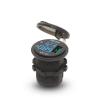 MNC USB töltő feszültség mérő szivargyújtó helyére 12V/24V Quick Charge 3.0