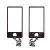 Mobilpro iPod nano 7 előlap érintő digitizer fekete
