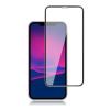 Mocolo Iphone 11 / XR kijelzővédő edzett üvegfólia (0.33mm, 9H, 3D, fekete), prémium minőség