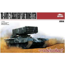 Modelcollect TOS-1A Heavy Flame Thrower System W/T-72 Chassis makett UA72009 rc autó