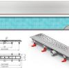 Mofém MOFÉM Linear MLP-850 KF Zuhanyfolyóka minta nélküli ráccsal