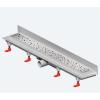 Mofém MOFÉM Linear MLS-750 M Sarok zuhanyfolyóka medium ráccsal