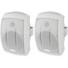 Monacor MKS-232/WS kétutas hangfal (pár), fehér