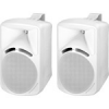 Monacor PAB-88/WS kétutas hangfal (pár), fehér