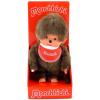 Monchhichi Monchhichi - fiú figura kis piros előkével - 20 cm