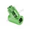 Monsoon adapter 45° 19/13mm - Zöld