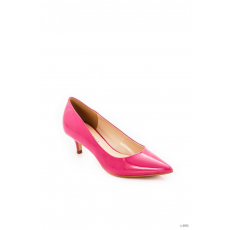 Montonelli Prémium Valódi Bőr női rózsaszín magassarkú cipő 37 /kac