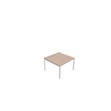 MOON tárgyalóasztal, 120 x 120 x 74 cm, fehér/fehér irodabútor