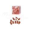 Moonbasanails Pót tip-ek gyakorlókézhez 100db barna