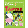 Móra Kiadó Vidám tanyák - matricás foglalkoztatókönyv
