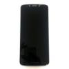 Motorola E5 lcd kijelző érintőpanellel fekete, gyári