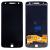 Motorola Moto Z XT1650 kompatibilis LCD modul, OEM jellegű, fekete