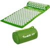 MOVIT akupresszúrás matrac 75 x 44 cm, párnával - zöld