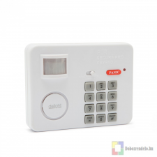 Mozgásérzékelős riasztó PIN-kód védelemmel speciális elem