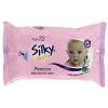 Mr.Wash Silky Baby törlőkendő Premium 72db