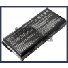 MSI 91NMS17LD4SU1 4400 mAh 6 cella fekete notebook/laptop akku/akkumulátor utángyártott