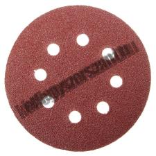 MTX Velcro csiszoló korong perforált, P 60 125 mm Mtx barkácsolás, csiszolás, rögzítés