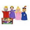 MÚ BRNO Kesztyűbáb szett Királyi család
