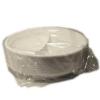 Műanyag tányér, 2 részes