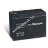 Multipower Ólom akku 12V 10Ah (Multipower) típus MP10-12C ciklusálló