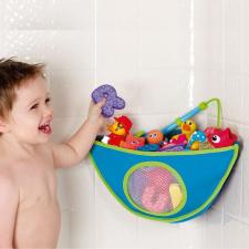 MUNCHKIN fürdőjáték tároló sarokba - kék vagy pink fürdőszobai játék