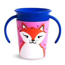 MUNCHKIN Miracle 360 itatópohár 177ml - Wild Love Fox kulacs, kulacstartó