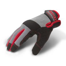 Munkavédelmi kesztyű tépőzárral kapacitív ujjheggyel XL-es méret